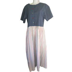 Dresses & Skirts - Vintage Handmade Teacher Maxi Dress